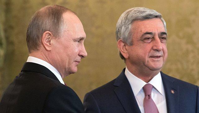 ВАрмении голосуют жители Российской Федерации изГрузии— Выборы президента