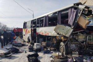 Минтранс Армении представил новые данные о пострадавших в ДТП с участием автобуса Ереван-Москва
