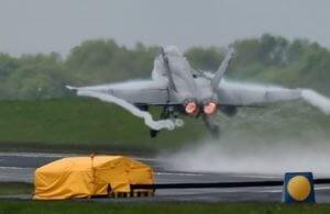 В Британии разбился самолет ВВС: есть погибший