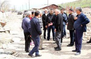 Президент Арцаха посетил ряд населенных пунктов Аскеранского района