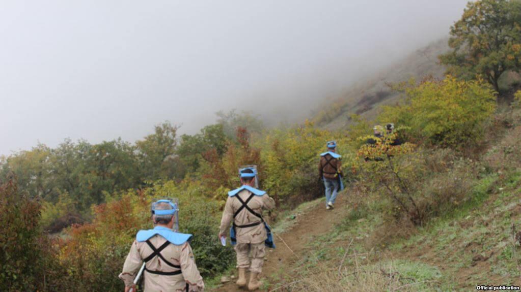 Саперов The HALO Trust прооперировали вСтепанакерте после подрыва мины