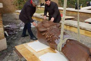 Итальянская Acistampa представила подробности открытия памятника Григору Нарекаци в Ватикане