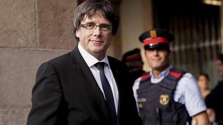 Суд вГермании продлил срок содержания Пучдемона под стражей