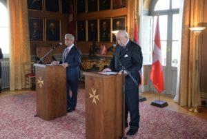 Армения и Мальтийский Суверенный орден связаны нитями, ведущими к истокам ужасной трагедии