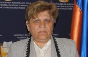 Адвокат Гаяне Галоян вышла на свободу под залог в 700 тысяч драм