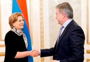 Премьер-министр Армении принял главу Роспотребнадзора