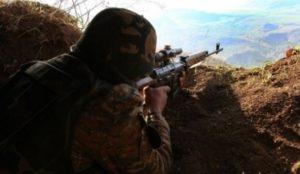 За минувшую неделю Азербайджан 300 раз нарушил режим перемирия на карабахском направлении