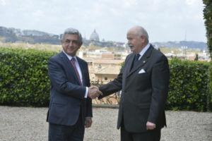 Серж Саргсян: Мальтийский орден всегда там, где больше всего нужна помощь