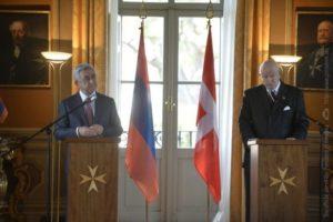 Армения и Суверенный Мальтийский Орден подписали соглашение о сотрудничестве