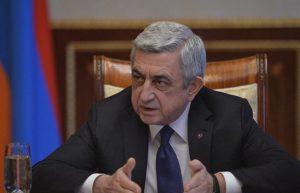Президент Армении направил письмо с соболезнованиями президенту Грузии