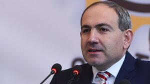 Никол Пашинян в парламенте