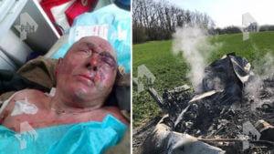 На юге России пьяный 75-летний пилот разбил вертолет