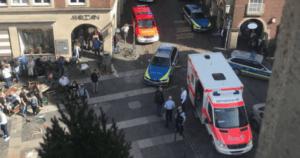 Водитель грузовика, въехавшего в толпу в немецком Мюнстере, покончил с собой