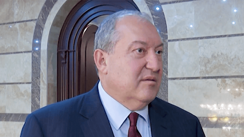Демпроцессы доводятся дологического окончания — Президент Армении