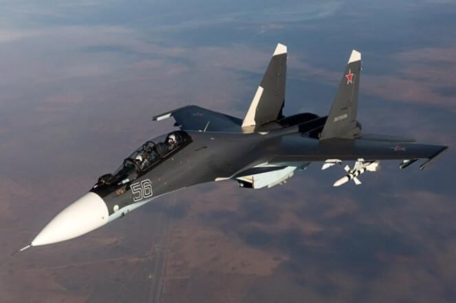 Над Средиземным морем разбился русский истребитель, лётчики погибли