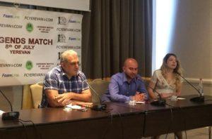 Легенды мирового футбола соберутся в Армении