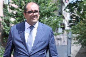 Глава МЧС Армении с рабочим визитом отбыл в Москву