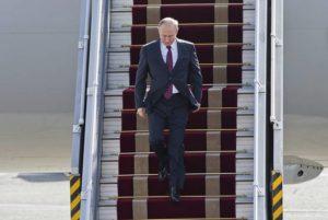 Владимир Путин прибыл в Вену с рабочим визитом