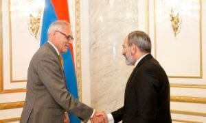 Премьер-министр Армении принял посла ФРГ