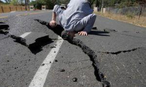 Сильное землетрясение в Азербайджане