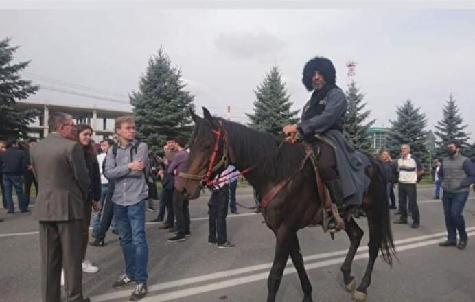 Помощник руководителя  Ингушетии разъяснил  стрельбу силовиков намитинге вМагасе