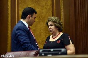 Эрмине Нагдалян заявила о выходе из предвыборной гонки