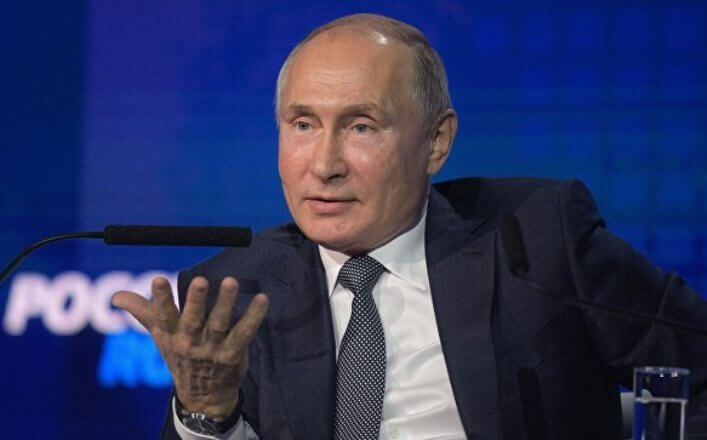 Путин пообещал рост пенсий в России
