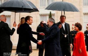 Никол Пашинян принял в Париже участие в церемонии, посвященной 100-летию подписания мира в Первой мировой войне