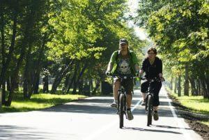 В Ереване устанавливают знаки велосипедной дорожки