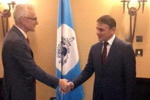 Шеф полиции Армении встретился с генсеком Интерпола