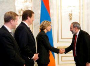 Никол Пашинян принял председателя регионального совета Иль-де-Франс