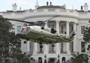 В Сети появились фотографии нового вертолета президента США