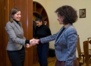 Анна Акопян встретилась с советником спецпредставителя ЕС по Южному Кавказу и кризису в Грузии