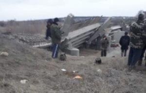 Под Воронежем обрушился мост, есть раненые