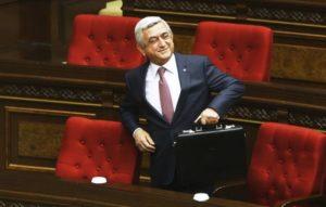 Партия Саргсяна примет участие во внеочередных парламентских выборах