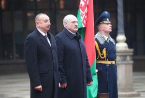 Азербайджанский диктатор поблагодарил продажному Лукашенко за поддержку по Карабаху