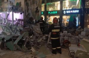 В Минске в ТЦ обвалился потолок