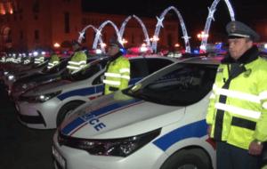 Дорожная полиция перейдет на круглосуточный усиленный режим на всей территории Армении
