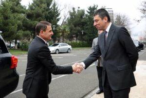 Валерий Осипян встретился с министром внутренних дел Грузии