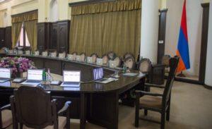 В новом правительстве Армении будет 12 министерств,вместо 17