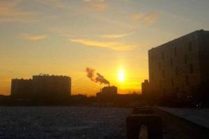 Конец Света: планета Нибиру показалась в небе Петербурга