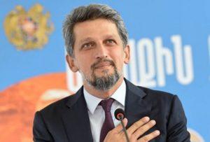 Гаро Пайлан в парламенте Турции поздравил Никола Пашиняна с победой на армянском языке