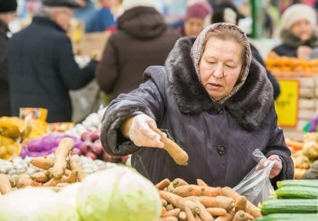 Цены на продукты в России растут в три раза быстрее, чем в Европе