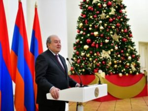 Президент Армении: Я хотел бы пожелать, чтобы 2019 год снова стал годом Армении
