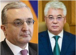 Глава МИД Армении обсудил с казахстанским коллегой ситуацию в  Караганде