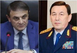Начальник полиции Армении побеседовал с казахским коллегой