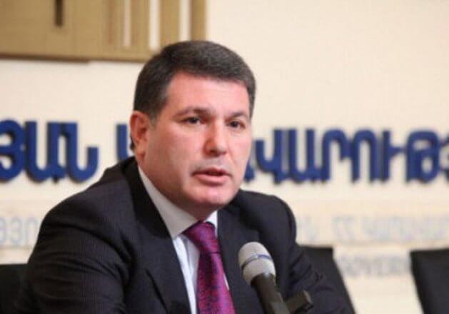 Решение суда по вопросу меры пресечения в отношении экс-министра экологии Армении