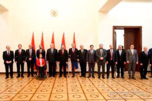Состоялась церемония принесения клятвы членами правительства Армении