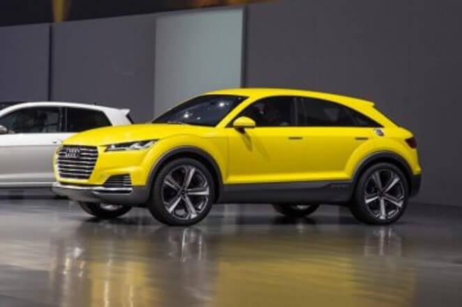Audi представит новый кроссовер Q4 e-tron