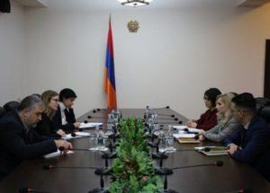 Члены Совбеза Армении и делегации ОБСЕ обсудили вопросы вовлечения гражданского общества